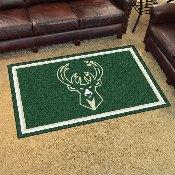 NBA - Milwaukee Bucks 4'x6' Rug