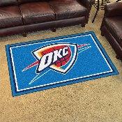 NBA - Oklahoma City Thunder 4'x6' Rug