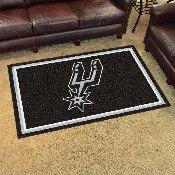 NBA - San Antonio Spurs 4'x6' Rug