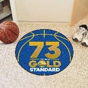 NBA - Warriors 73 Basketball Mat 27 diameter