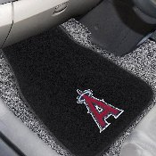 MLB - Los Angeles Angels 2-PC Embroidered Car Mats 18x27