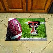 Texas Tech Scraper Mat 19x30 - Ball