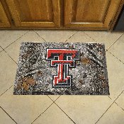 Texas Tech Scraper Mat 19x30 - Camo