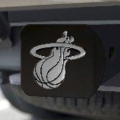 NBA - Miami Heat Black Hitch Cover 4 1/2x3 3/8