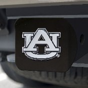 Auburn Black Hitch Cover 4 1/2x3 3/8