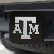 Texas A&M Black Hitch Cover 4 1/2x3 3/8