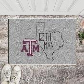 Texas A&M Southern Style Starter Mat 19x30