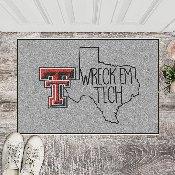 Texas Tech Southern Style Starter Mat 19x30