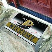 NHL - Anaheim Ducks 18x30 Crumb Rubber Door Mat