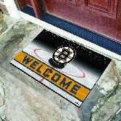 NHL - Boston Bruins 18x30 Crumb RubberDoor Mat