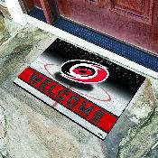 NHL - Carolina Hurricanes 18x30 Crumb Rubber Door Mat