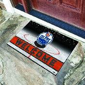 NHL - Edmonton Oilers 18x30 Crumb Rubber Door Mat
