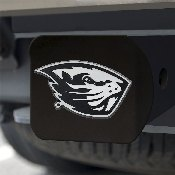 Oregon State Black Hitch Cover 4 1/2x3 3/8