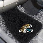 NFL - Jacksonville Jaguars  2-pc Embroidered Car Mat Set  17