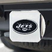 NFL - New York Jets Chrome Hitch - Chrome3.4