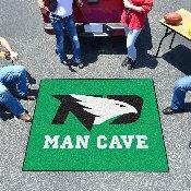 North Dakota Man Cave Tailgater Rug 5'x6'
