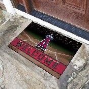 MLB - Los Angeles Angels 18x30 Crumb RubberDoor Mat