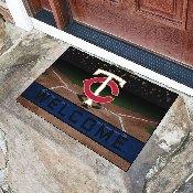 MLB - Minnesota Twins 18x30 Crumb RubberDoor Mat