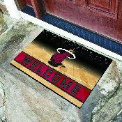 NBA - Miami Heat 18x30 Crumb RubberDoor Mat