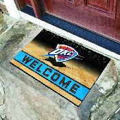NBA - Oklahoma City Thunder 18x30 Crumb RubberDoor Mat