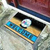 NBA - Philadelphia 76ers 18x30 Crumb RubberDoor Mat