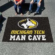 Michigan Tech University Man Cave UltiMat 5'x8' Rug