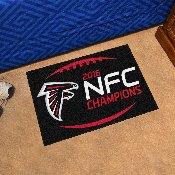 NFL - Atlanta Falcons NFC Champions Starter Rug 19x30