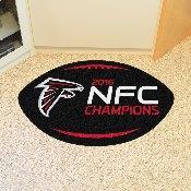 NFL - Atlanta Falcons NFC Champions Football Rug 20.5x32.5