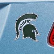 Michigan State University Color Emblem 2.1x3.2