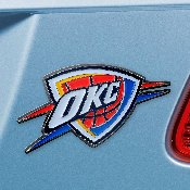 NBA - Oklahoma City Thunder Color Emblem 1.8x3.2