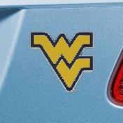 West Virginia University Color Emblem 3x3.2