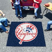 MLB - New York Yankees Primary Logo Tailgater Rug 5'x6'