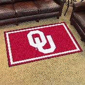 University of Oklahoma 4'x6' Rug