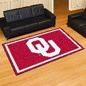 University of Oklahoma 5'x8' Rug