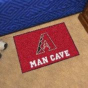 MLB - Arizona Diamondbacks Man Cave Starter Rug 19x30