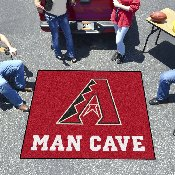 MLB - Arizona Diamondbacks Man Cave Tailgater Rug 5'x6'