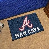 MLB - Atlanta Braves Man Cave Starter Rug 19x30