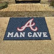 MLB - Atlanta Braves Man Cave All-Star Mat 33.75x42.5