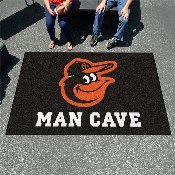 MLB - Balitmore Orioles Man Cave UltiMat 5'x8' Rug