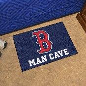 MLB - Boston Red Sox Man Cave Starter Rug 19x30