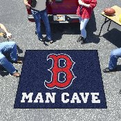 MLB - Boston Red Sox Man Cave Tailgater Rug 5'x6'