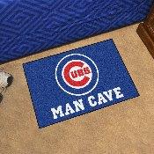 MLB - Chicago Cubs Man Cave Starter Rug 19x30