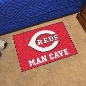MLB - Cincinnati Reds Man Cave Starter Rug 19x30