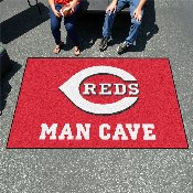 MLB - Cincinnati Reds Man Cave UltiMat 5'x8' Rug