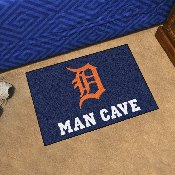 MLB - Detroit Tigers Man Cave Starter Rug 19x30