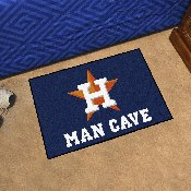 MLB - Houston Astros Man Cave Starter Rug 19x30