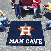 MLB - Houston Astros Man Cave Tailgater Rug 5'x6'