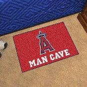 MLB - Los Angeles Angels Man Cave Starter Rug 19x30