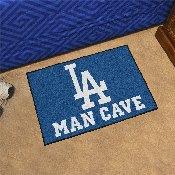 MLB - Los Angeles Dodgers Man Cave Starter Rug 19x30