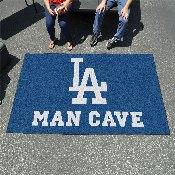 MLB - Los Angeles Dodgers Man Cave UltiMat 5'x8' Rug
